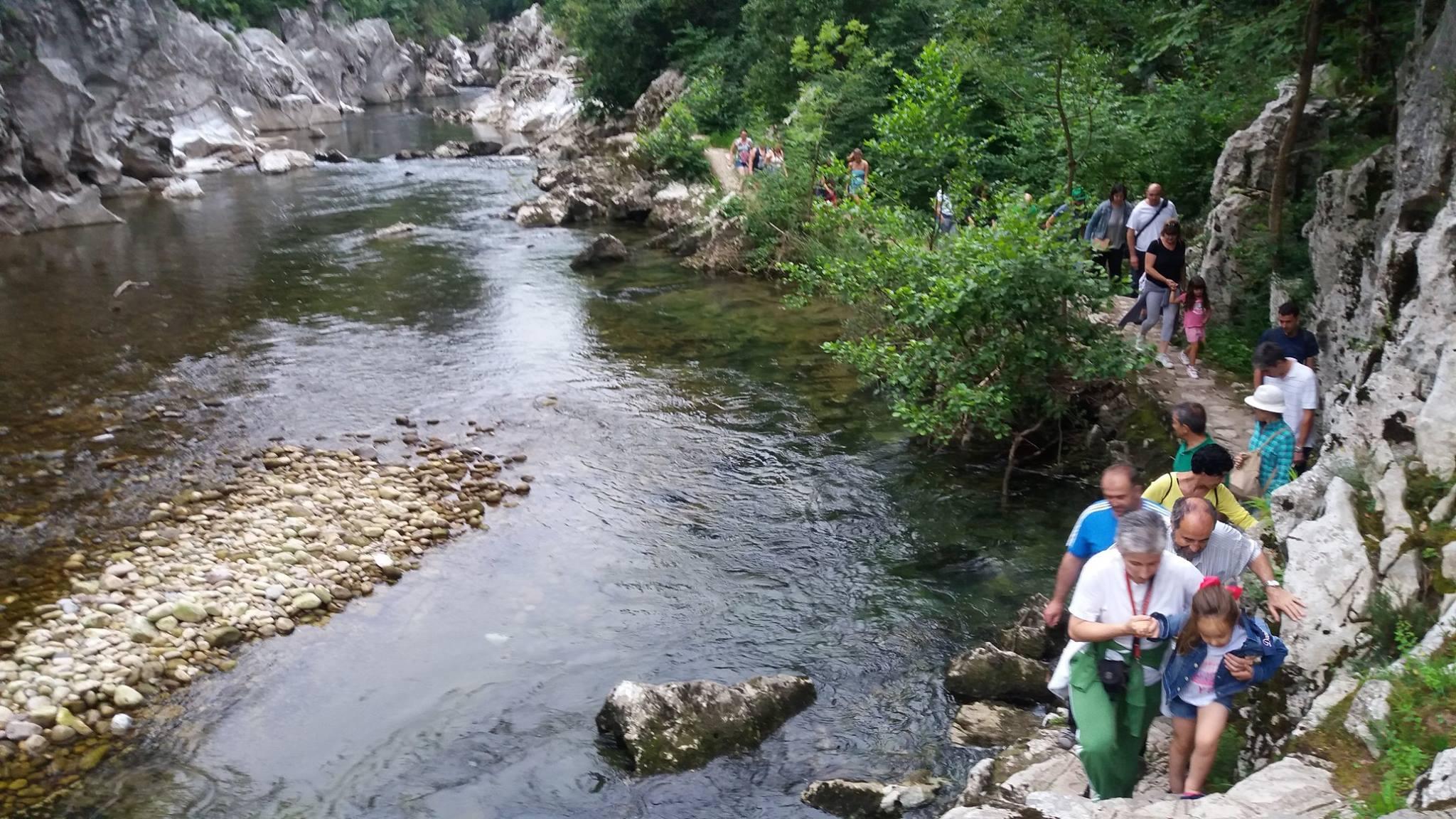 excursión ribera pas con niños