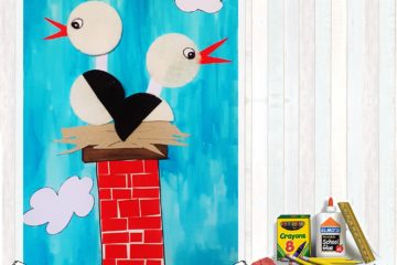 #Natureaencasa Hoy construimos un nido de cigüeñas