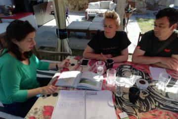 Reuniones y trabajo de campo en Limpias, Solórzano y Voto