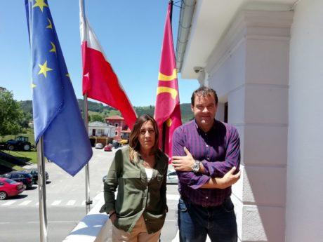 Reunión con Gema Perojo, alcaldesa de Solórzano.
