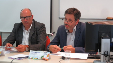 Luís Chaves, coordinador de la Red de GALs-MINHA TERRA de Portugal, explicando la evolución de LEADER en su país.