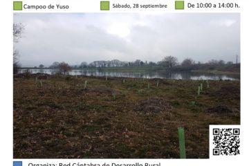 Conservación y mantenimiento de plantación en Campoo de Yuso