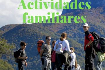 Nueva sección web en el proyecto Naturea Cantabria: actividades familiares