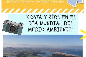 """En marcha el 5º nuestro V concurso de fotografía: """"Costa y ríos en el Día Mundial del Medio Ambiente""""."""