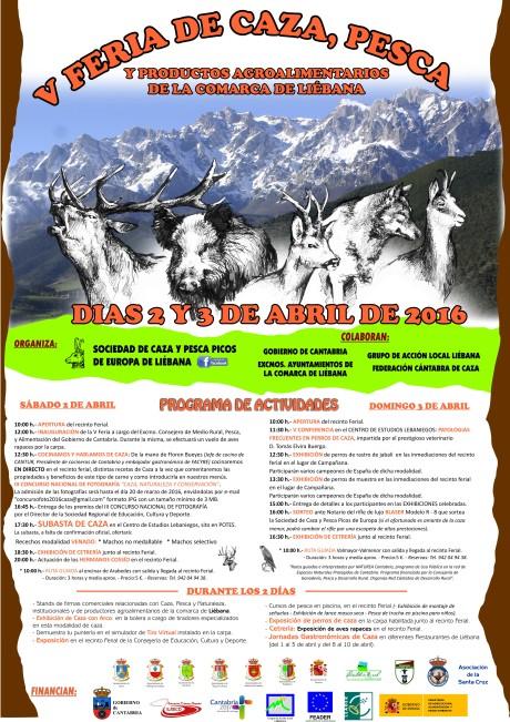 Cartel Definitivo Feria Caza 16
