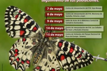 Talleres de iniciación al estudio de las mariposas