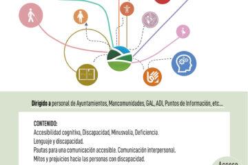"Organizamos la formación ""COMUNICACIÓN ACCESIBLE: COMUNICACIÓN INTERPERSONAL"""