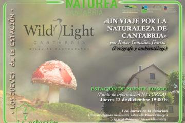 """#LosJuevesdelaEstación """"Un viaje por la Naturaleza de Cantabria"""" con Rober González"""