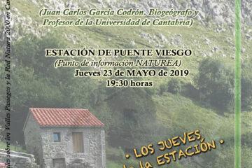 #LosJuevesdelaEstación: Los paisajes naturales de Cantabria (ecosistemas y construcción humana)