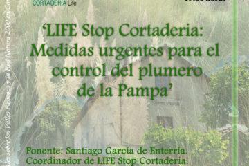 #LosJuevesdelaEstación – 'LIFE Stop Cortaderia: medidas urgentes para el control del plumero de la Pampa'