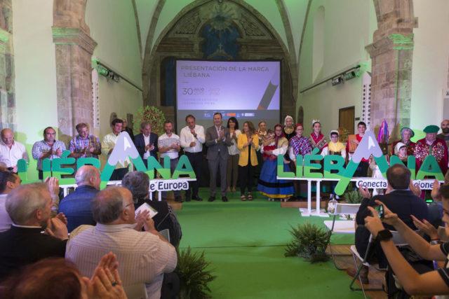 Consejero de medio rural, Guillermo Blanco asiste a la presentación de la marca Líebana en Potes. 30 JULIO 2019