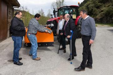 Vega de Liébana mejora el equipamiento de su servicio de vialidad y mantenimiento a través del programa LEADER
