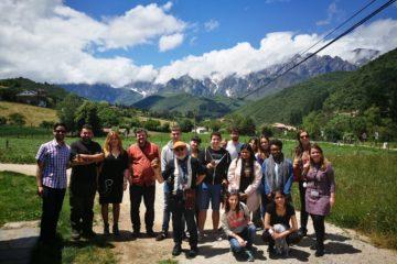 RuralOn Tour Joven: jóvenes emprendedores conocieron el programa LEADER en Liébana
