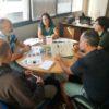 Reunión con el proyecto Life Cortaderia