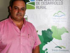 Pedro Gómez, representante del Grupo de Acción Local Valles Pasiegos