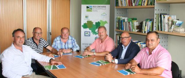 Junta Directiva de la Red Cántabra de Desarrollo Rural