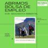 Abrimos una bolsa de empleo para sustituciones temporales en Naturea Cantabria (guías)