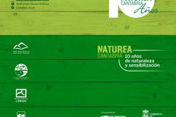 Programa de la celebración 'Naturea Cantabria: 10 años de Naturaleza y Divulgación'