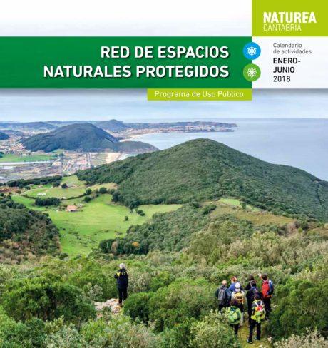 Calendario de Actividades Naturea Cantabria 2018 - 1er semestre