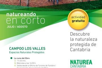 #Natureandoencorto, nueva propuesta gratuita este verano para conocer los Espacios Naturales Protegidos de Cantabria