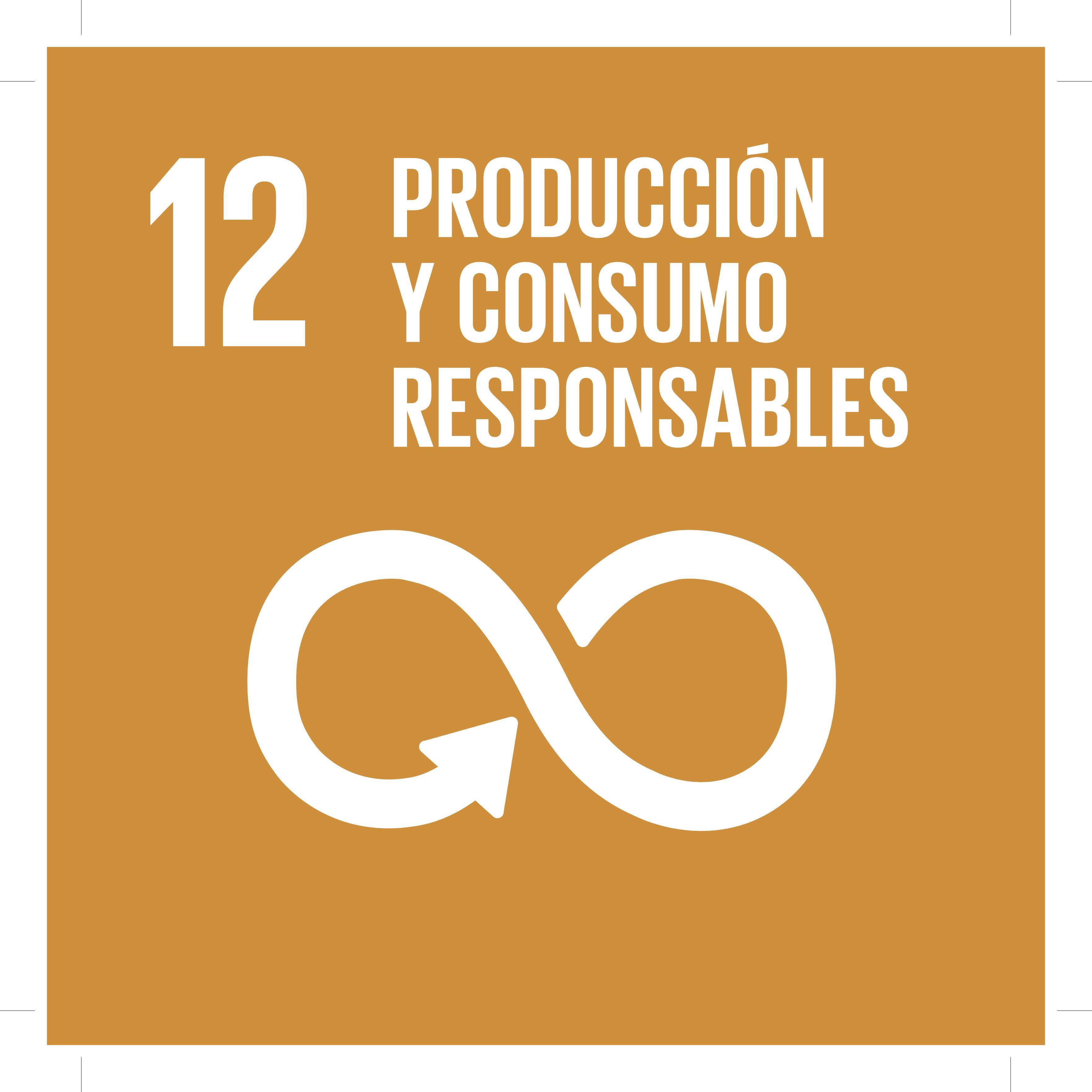 ODS12 - Producción y consumo responsables