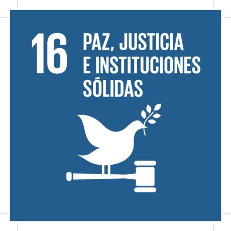 ODS16 - Paz, Justicia e Instituciones sólidas
