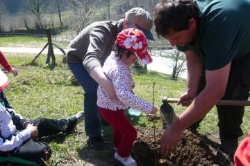 """Un """"Día del Árbol"""" muy especial  en el Parque Natural Saja Besaya"""