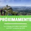 Muy pronto: actividades de Naturea Cantabria para el segundo semestre de 2019