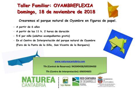 Taller familiar: Oyambreflexia