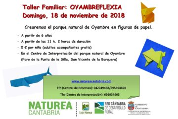 Taller familiar: Oyambreflexia