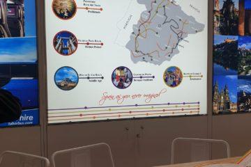El Arte Rupestre de Cantabria, presente en la WTM de Londres a través de 'Rutas Culturales de España' y Caminos de Arte Rupestre Prehistórico