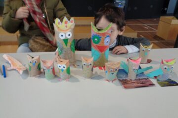 Taller familiar: aves rapaces nocturnas