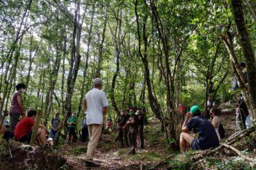 San Miguel de Aguayo mira al pasado y homenajea la actividad de sus carboneros con #CultureaCantabria