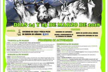 VII Feria de Caza, Pesca y Productos Agroalimentarios de la Comarca de Liébana el 24 y 25 de marzo