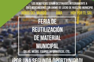 I Feria de reutilización de material municipal en Cabezón de la Sal – POSPUESTO – SE AVISARÁ DE LA NUEVA FECHA PRÓXIMAMENTE