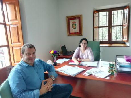 Reunión en Cieza con Lorena Pérez