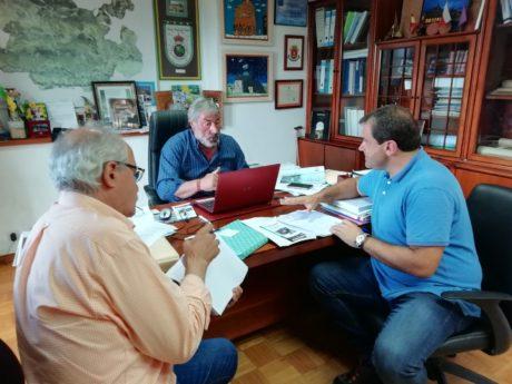 Reunión en el Ayuntamiento de Valderredible