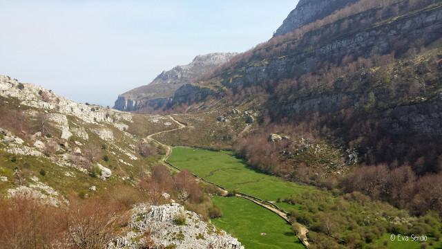 Foto 02.- Vista de Brenavinto en la ruta de Vuelta a Colina. Abril de 2017.