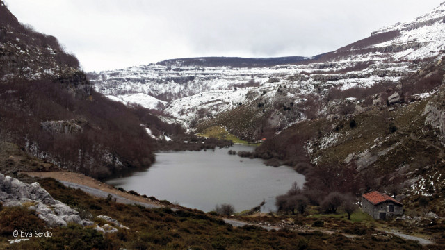 Lago Brenavinto formado a consecuencia de las abundantes lluvias del mes de Febrero de 2017.