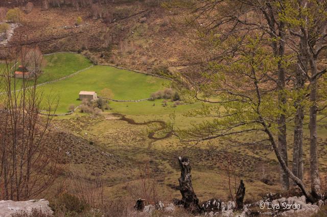 Vista de Brenarroman desde la ruta de Bustalveinte. Mayo de 2016.