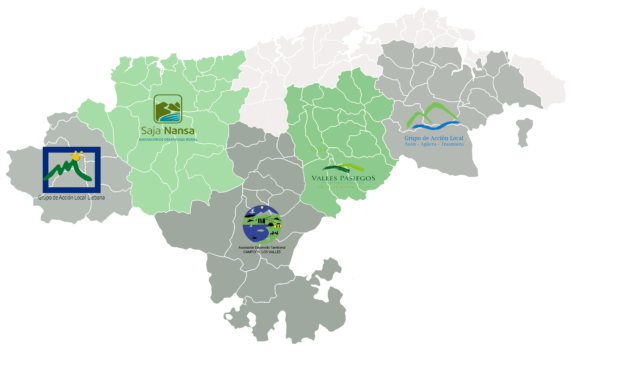 mapa RCDR
