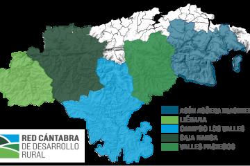 El Grupo de Acción Local Asón-Agüera se integra en la Red Cántabra de Desarrollo Rural
