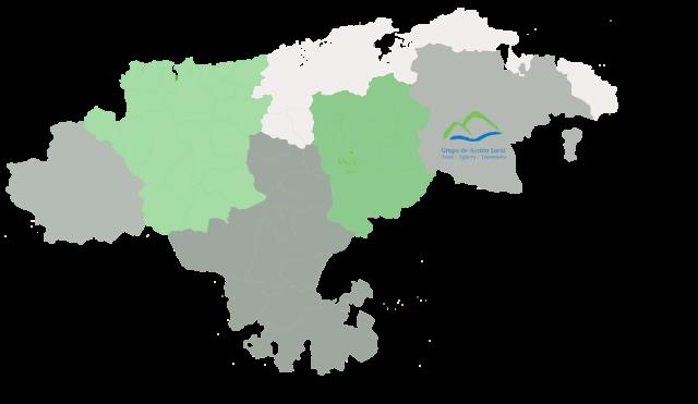 Mapa GAL Ason Agüera Trasmiera