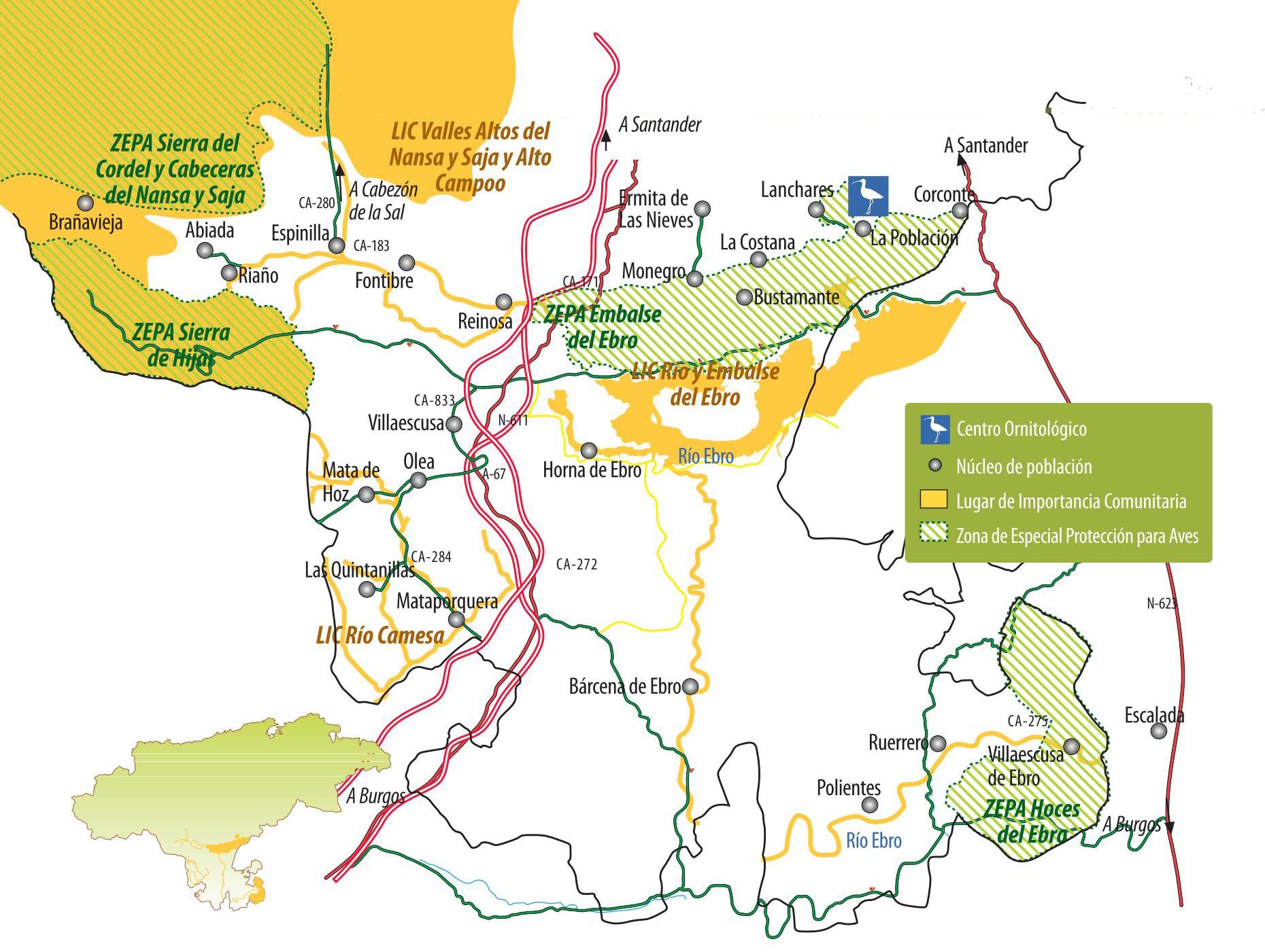 mapa campoo