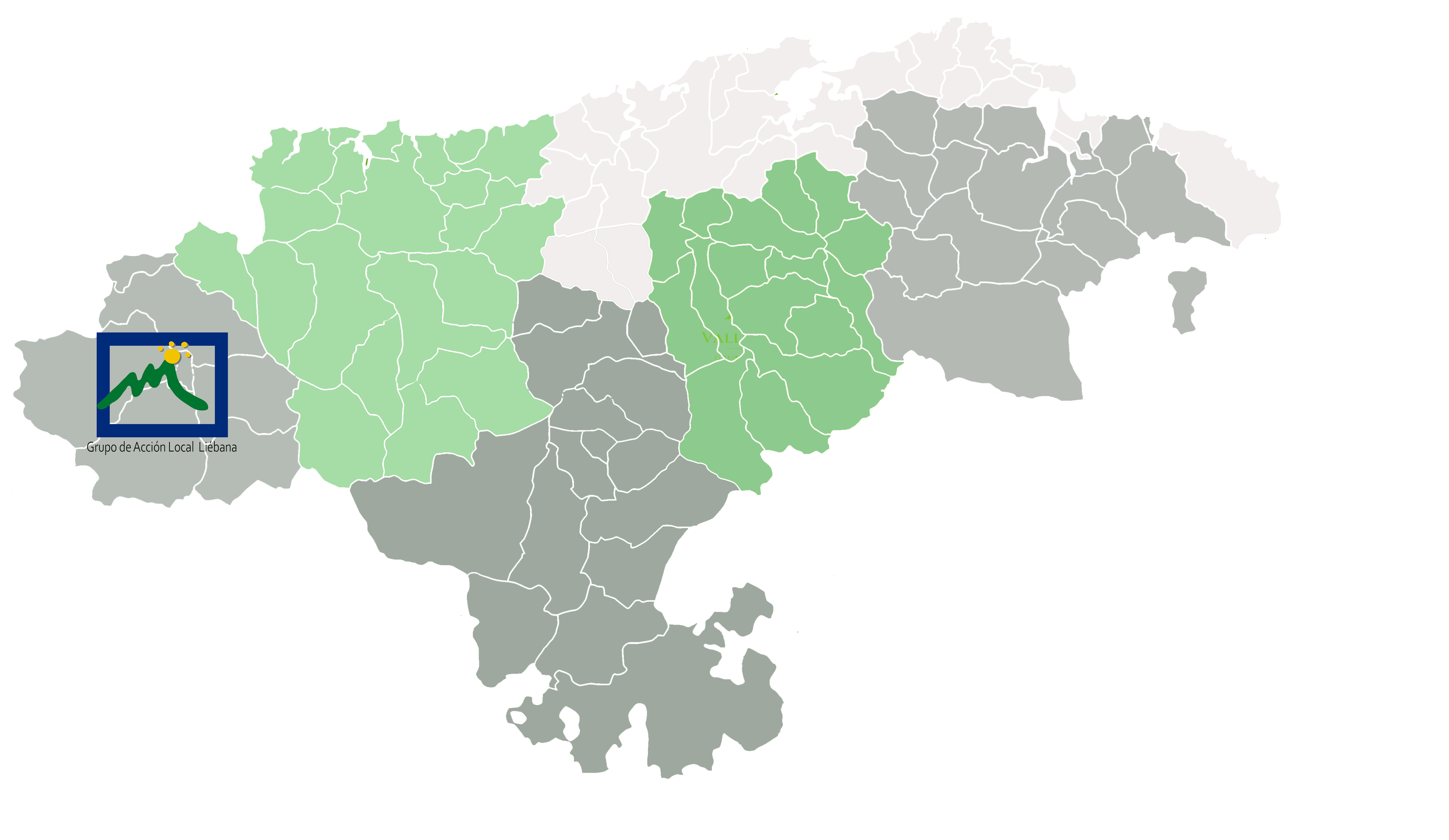 Mapa GAL Liébana