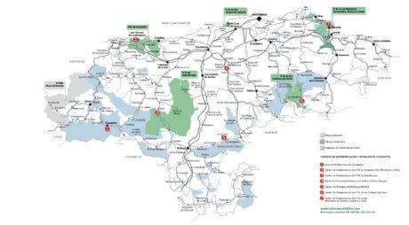 Mapa Naturea Cantabria en 2018