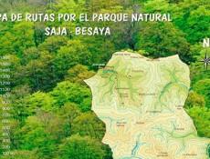 Mapa del Parque Natural Saja Besaya