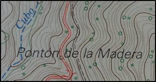 Mapa topográfico Nacional. Año 1987