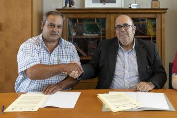 El Gobierno de Cantabria y la Red Cántabra de Desarrollo Rural firman el convenio para la ejecución de Naturea Cantabria en 2018