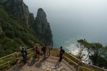 Monte Buciero: la costa esmeralda